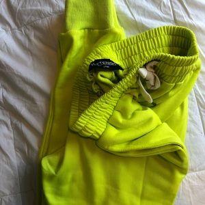 Kittenish Pants & Jumpsuits - Lime joggers
